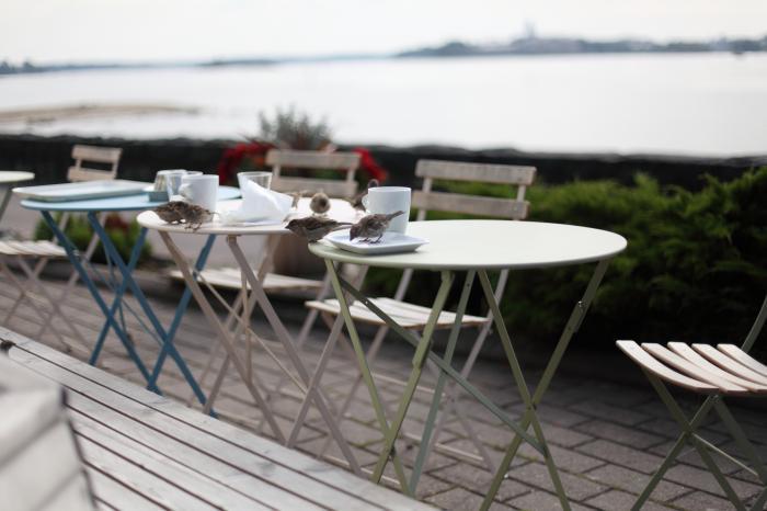 海辺のカフェ