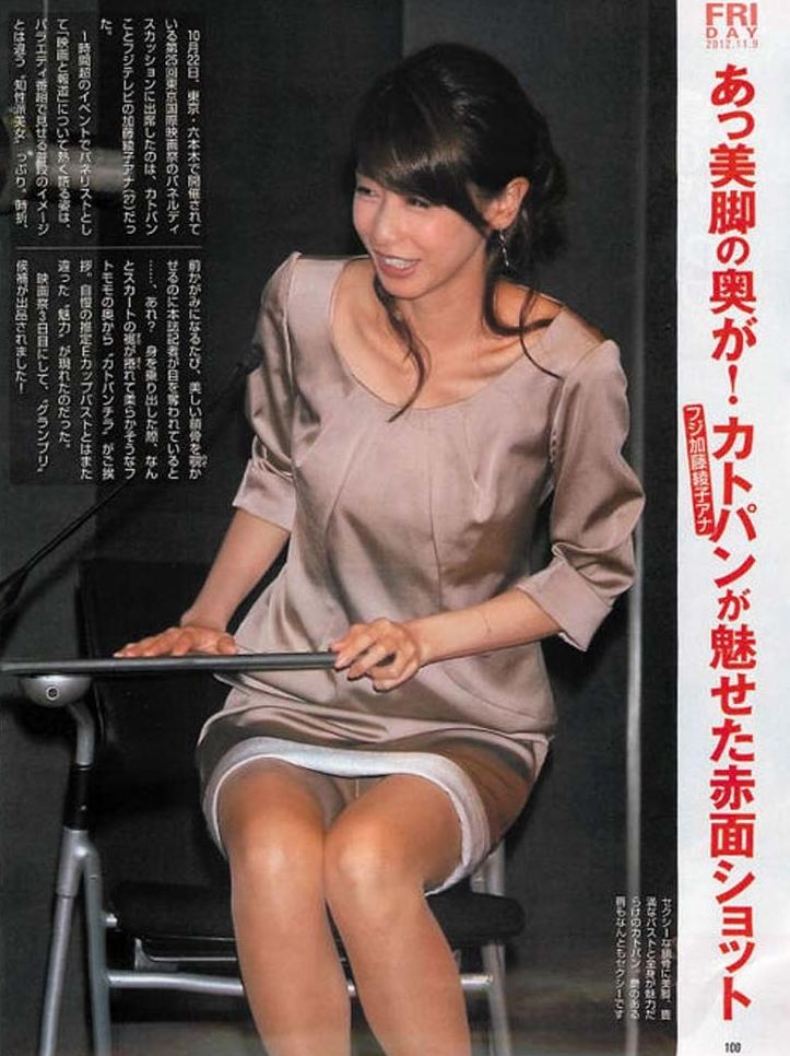 加藤綾子のエロ画像
