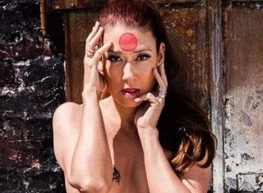 LiLiCo(46)が週刊大衆袋とじグラビアで刺青ヘアヌードを披露。(※画像あり)