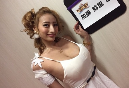 加藤紗里の巨乳がますます肥大化して止まらない「乳輪もだしてきたぞ」www
