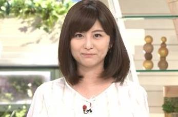 宇賀なつみアナ、パンツ透け透け放送事故wwwww