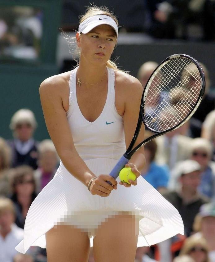 【アスリートエロ画像135枚】女子テニスのパンチラなど抜ける「おっさん的」エロ目線でパンチラや胸チラ、シャラポワも総まとめ【保存版】
