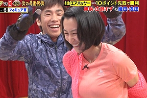 浅田舞がエロ巨乳とエロ下着の放送事故ヤベーwwwwww「チチデカすぎだろ!!」と苦情殺到