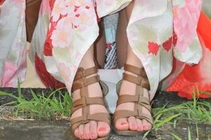 夏祭り「浴衣パンチラ」がエロすぎwwwwwww