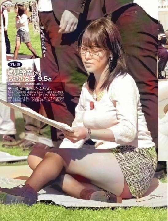 【エロ画像69枚】鷲見玲奈のおっぱい「爆乳すぎる女子アナ」だしパンチラもするわでニュースが頭に入らないw【永久保存版】