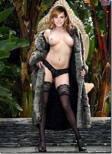 【世界の快道でイク!西欧特別編】無毛の美少女ボディがよく似合うエマ・ワトソンのアイコラエロ動画像26