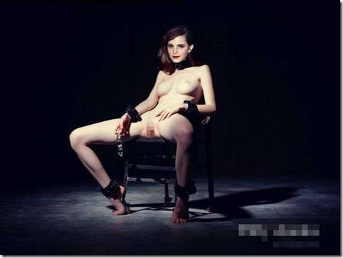 【世界の快道でイク!西欧特別編】無毛の美少女ボディがよく似合うエマ・ワトソンのアイコラエロ動画像39