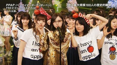 FNS歌謡祭20161214乃木坂46コラボ欅坂46かわいい画像20162