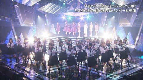 FNS歌謡祭20161214乃木坂46コラボ欅坂46かわいい画像2016