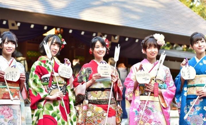 乃木坂46成人式2017乃木神社かわいい画像46振袖4晴着201701072
