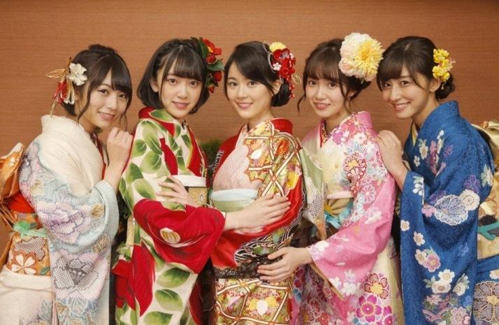 乃木坂46成人式2017乃木神社かわいい画像46振袖4晴着20170107