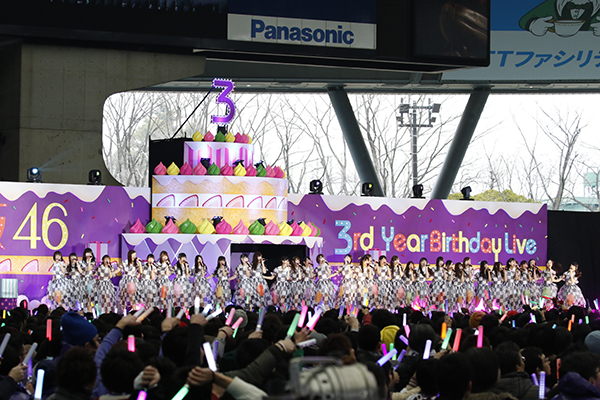 乃木坂46,3rd,YEAR,BIRTHDAY,LIVE,2015 SEIBU,DOME201702262