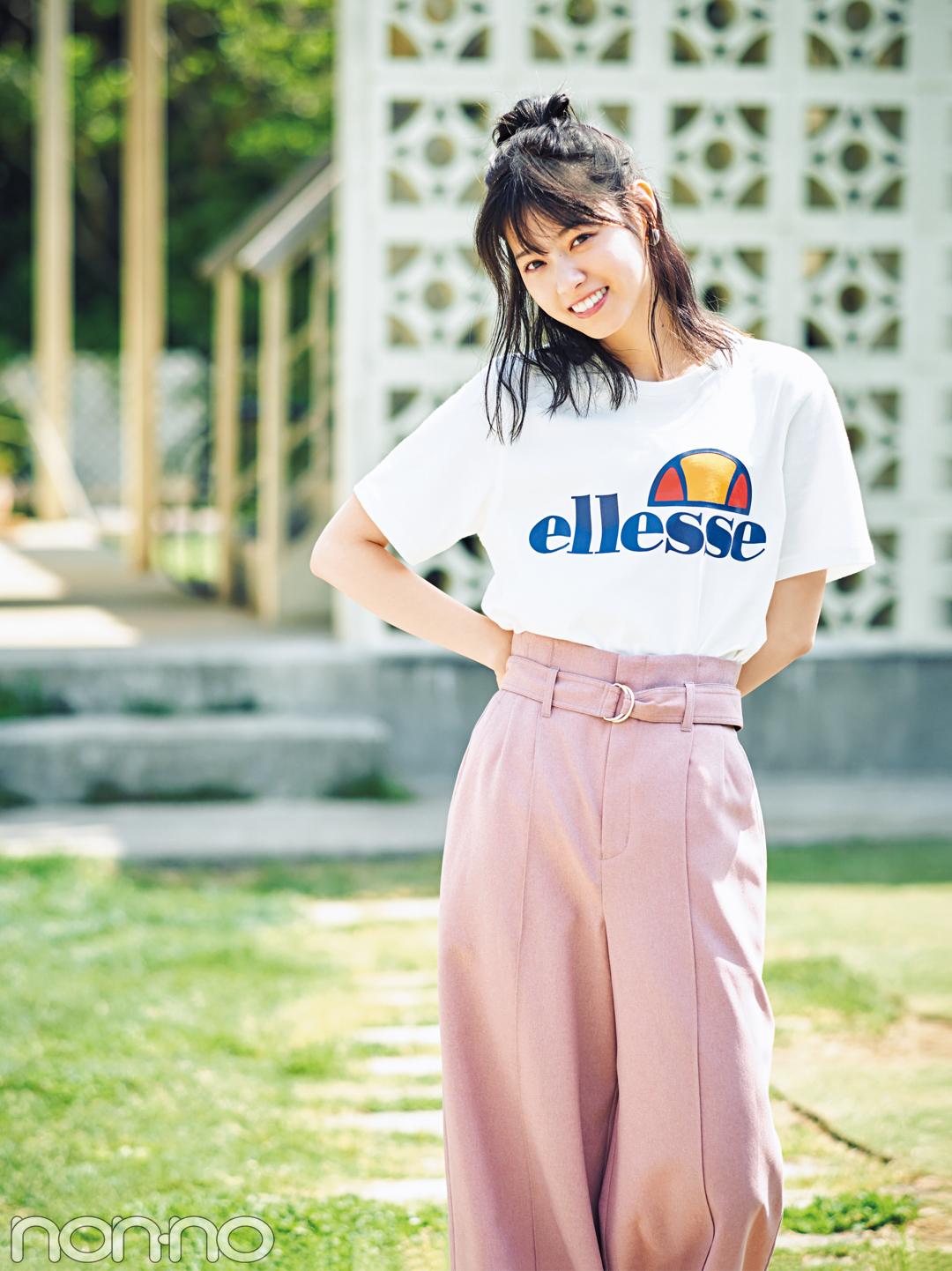 西野七瀬,Tシャツ,楽天,ellesse,楽天,購入,Tシャツ,20170717