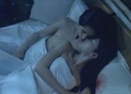 【黒木メイサ】しっとりとしたキスをする濡れ場
