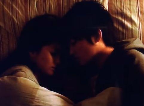 【松本若菜】幸せいっぱいの二人が見れるラブシーン