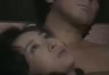 【三田佳子】柔らかな唇の感触を楽しむ濡れ場