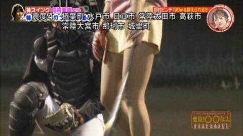 稲村亜美とモデル4人のバッティング対決が何かえろい