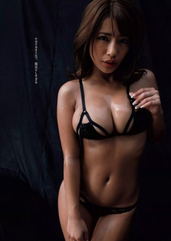 橋本梨菜(23)「黒光りする美巨乳はえろいでしょ?」⇒JAPAN一黒いグラドルがヘンタイビキニwwwwww(写真あり)
