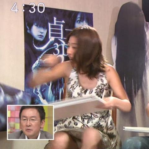 女性アイドル、テレビのパンモロ放送事故まとめ☆これほど清楚にパンツ見えるの珍しいよなwwwwww