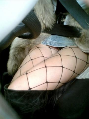 エッロいカーライフに憧れてしまう車内モロパン写真☆☆☆☆☆☆☆