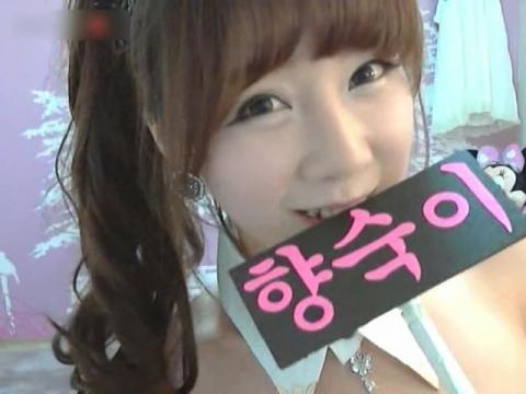韓国のニコ生系のサイトで→くそカワイい女子が「エ□配信」した映像☆媚び方が上手すぎ抜いた。