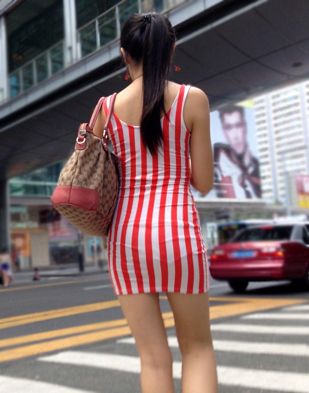 アダルト画像3次元 - 大人のセクシーが半端ない街撮りタイトミニスカのエロ画像