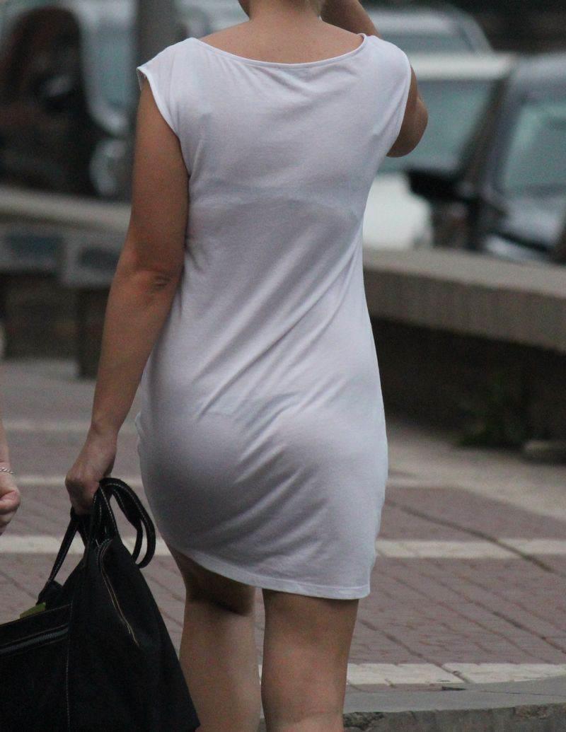 素人の着用してるブラが見える時期まであと少し【透けブラエロ画像】