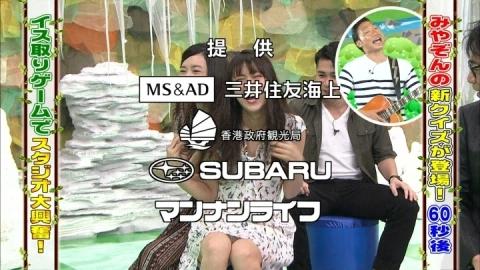 (写真)ビリGAL石川恋、マン毛が透ける純白パンツ丸見えwwwwwwwwwwwwwwwwww