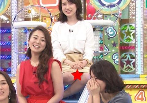 弘中綾香、「ロンハー」でパ○チラ放送事故wwwwwwwwwwww