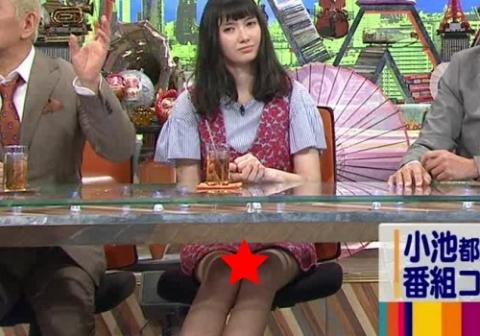 (速報)「ワイドナショー」で市川紗椰がパ○チラ☆☆