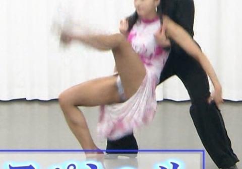 「カネスマ」社交ダンス部 モデル教師がパ○チラしまくりエ□すぎ☆☆