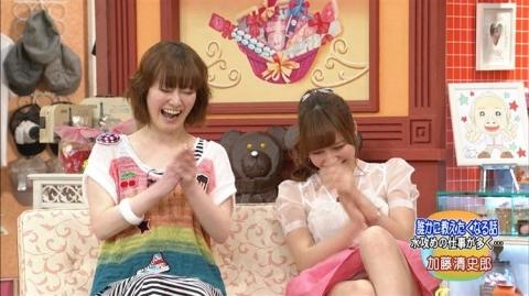 【画像】河西智美が真っ昼間のTVで主婦層にパ●チラを見せつけるwww誰得?