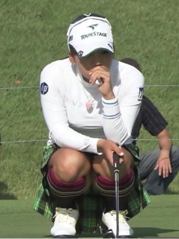 女子ゴルフ画像!!グリーン上のエ□キャプが120枚