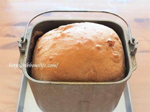 自家製ヘルシーくるみパン