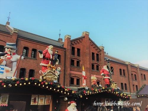 赤レンガ倉庫のクリスマスマーケット