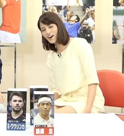 永島優美 太もも画像4