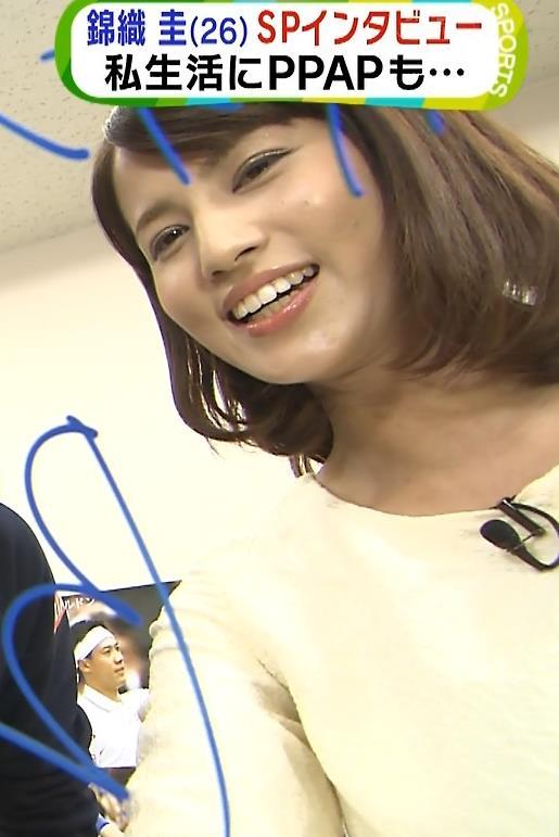 永島優美 太もも画像5