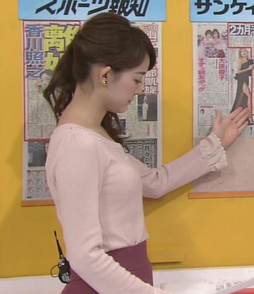 新井恵理那 おっぱい画像6