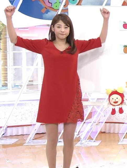 岡副麻希 ワンピース画像3