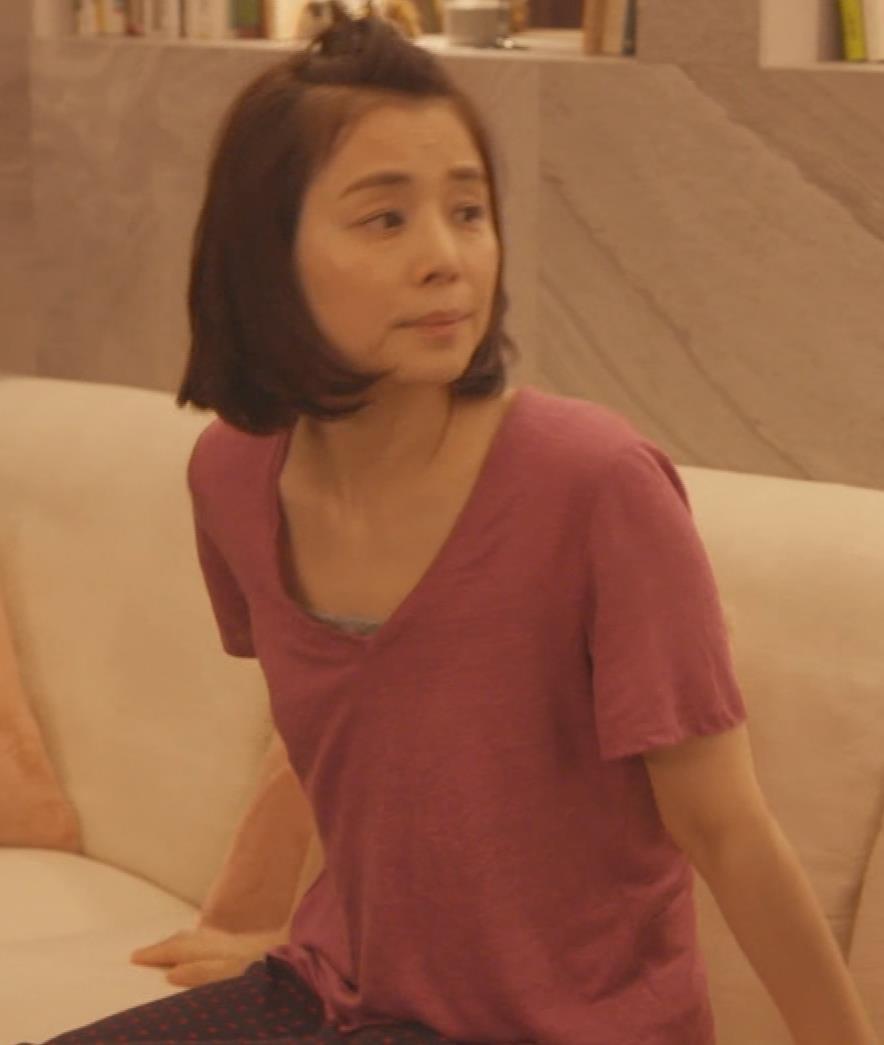 石田ゆり子 胸元画像4
