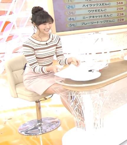 横山ルリカ ミニスカート画像3
