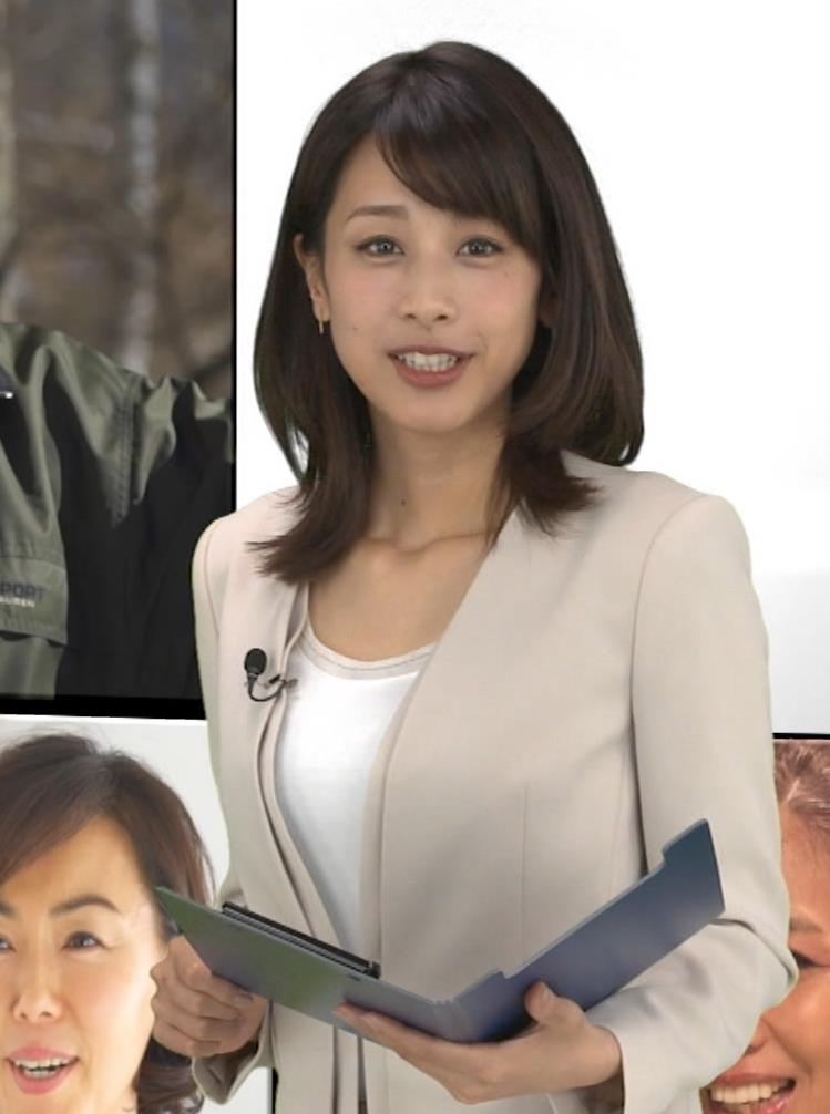 加藤綾子 胸元画像2