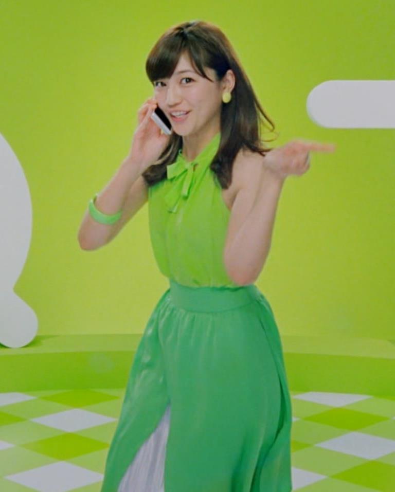 川口春奈 ワキ画像7