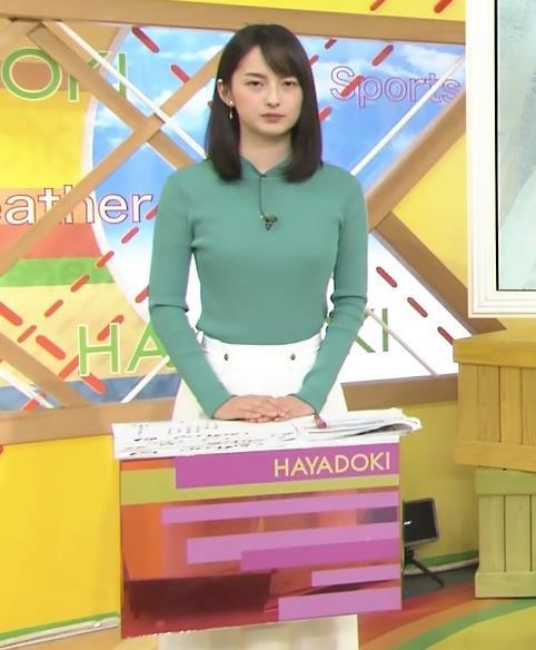 山本恵里伽 横乳画像9