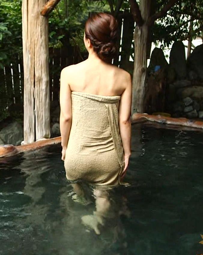 祥子 温泉入浴で巻いたタオルのお尻 表紙