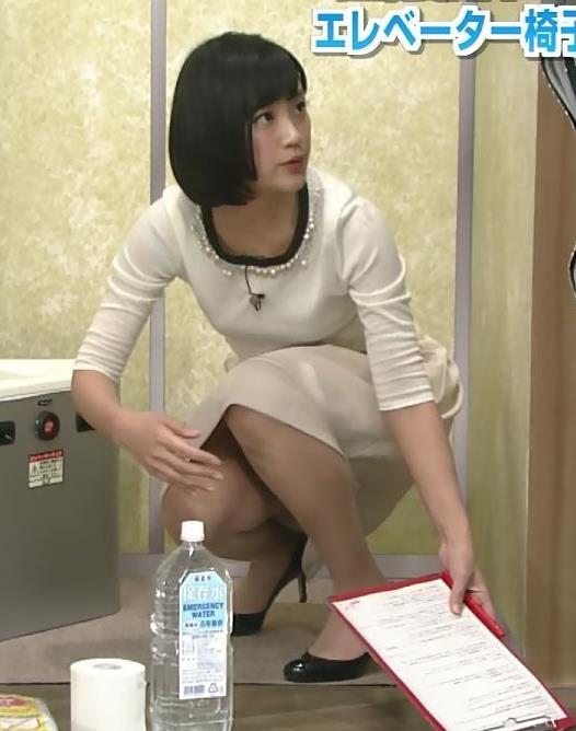 竹内由恵 スカート画像