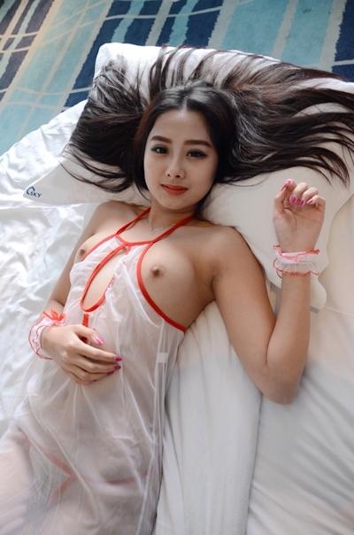 中国美女モデル 于子涵(Yuzihan) ヌード画像 1