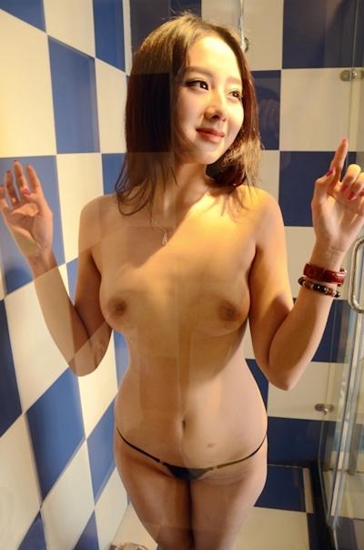 中国美女モデル 于子涵(Yuzihan) ヌード画像 2