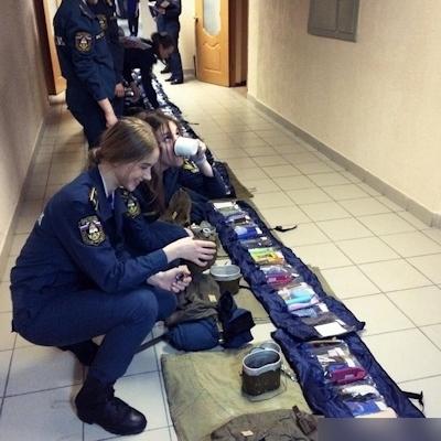 ロシアの美人消防士 6