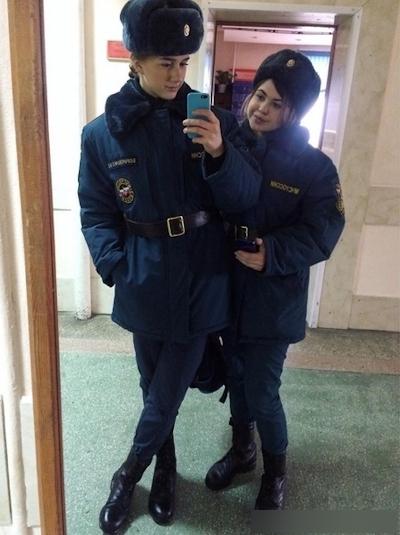 ロシアの美人消防士 8